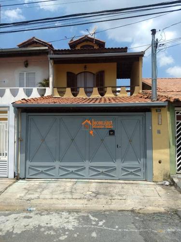 Imagem 1 de 18 de Sobrado À Venda, 125 M² Por R$ 590.000,00 - Jardim Santa Clara - Guarulhos/sp - So0312