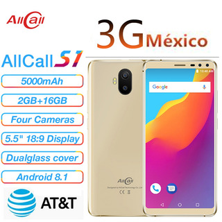 Allcall S1 3g Celular 5.5 Inch Android 8.1 2gb Ram 16gb Rom