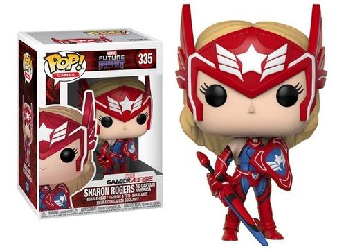 Funko Pop Marvel Future Sharon Rogers As El Capitan Amierica