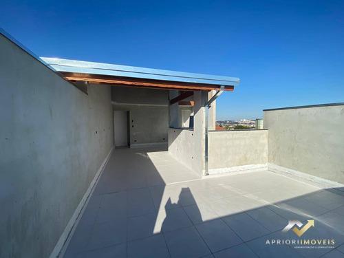 Cobertura À Venda, 80 M² Por R$ 310.000,00 - Parque Capuava - Santo André/sp - Co0640