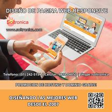 Diseño De Pagina Web Responsive, Llega A Mas Clientes!