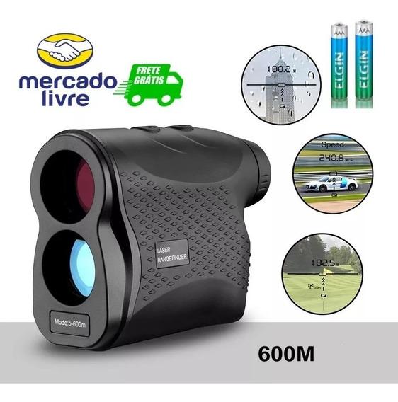 Medidor De Distância Velocidade Atirador Sniper Binóculo Top