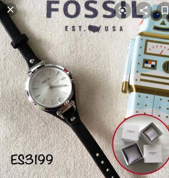 Correa Fossil Para Reloj De Mujer Es3199
