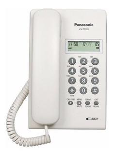 Teléfono fijo Panasonic KX-T7703 blanco