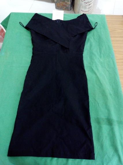 Vestido Negro Miel Y Limon