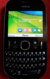 Celular Nokia Asha 200 Dual Chip + Fone Sony Ericsson