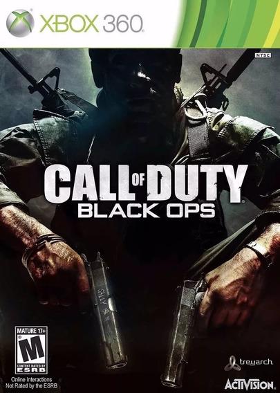 Black Ops 1 Xbox 360 Mídia Digital Transferência De Licença