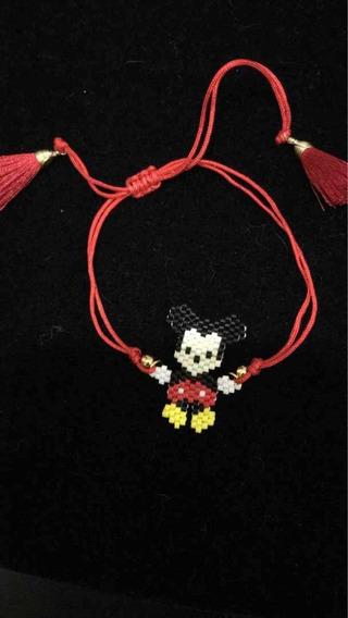 Mickey Mouse Miyuki Pulsera