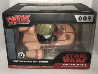 Funko Dorbz Star Wars Luke With Speeder Pop