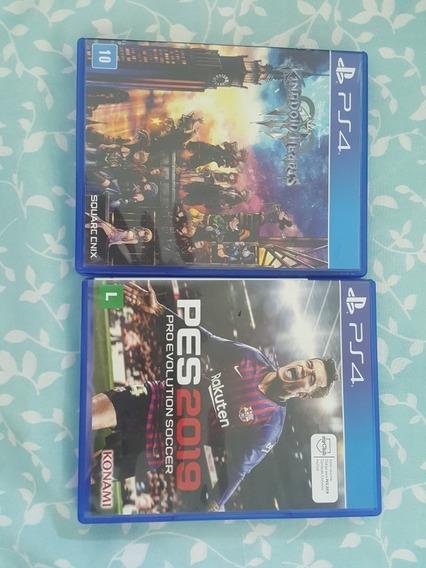 Pes19 E Kingdom Hearts 3 Ps4