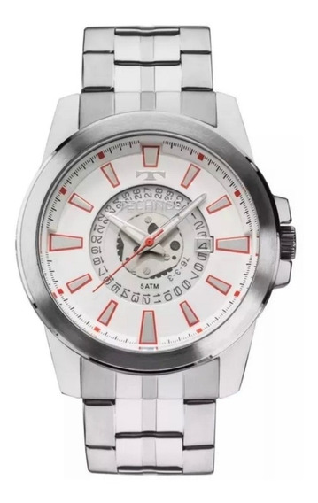 Relógio Technos Masculino Prateado 2315aci/1b Original! Prom