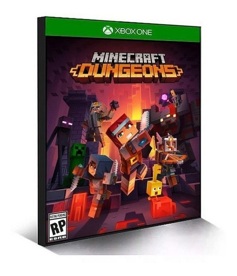 Minecraft Dungeons Xbox One Mídia Digital +1 Jogo Grátis