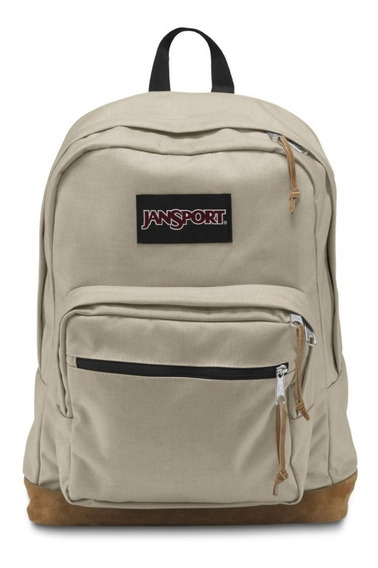 Mochila Jansport Right Pack Base De Cuero Portanotebook 15