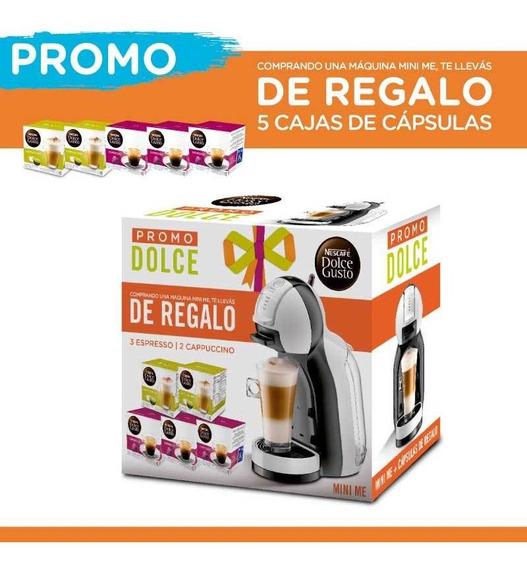 Cafetera Dolce Gusto Automática Mineme + Cápsulas Regalo