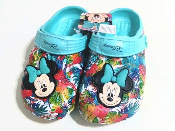 Sandalias Suecos Addnice Disney Minnie Aqua Rota Deportes