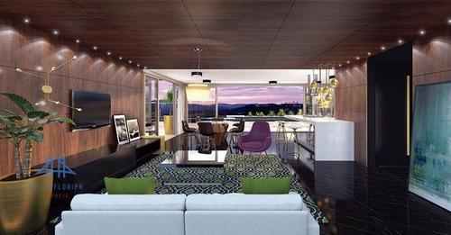Apartamento Com 2 Dormitórios À Venda, 107 M² Por R$ 1.215.130,00 - Jurerê Internacional - Florianópolis/sc - Ap3272