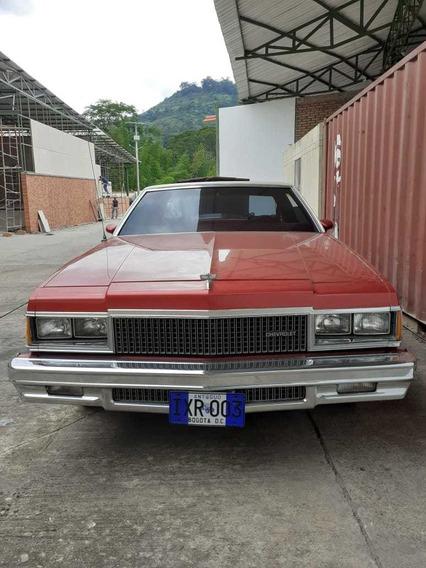 Chevrolet Caprice Rojo Modelo 1977 Irx 003