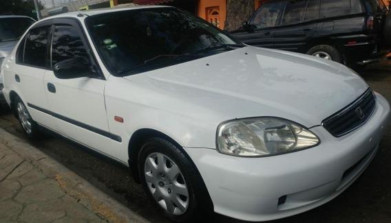 Honda Civic 2000 Sano En Brillante Condiciones Japonés