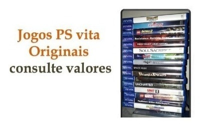 Jogos Ps Vita Vários Jogos/títulos