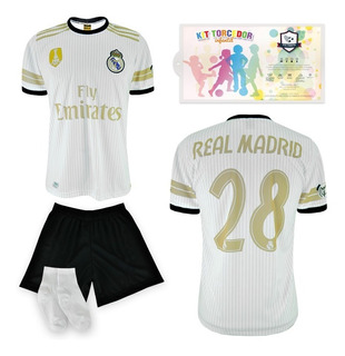 Conjunto Infantil Camisa Short Meias Times De Futebol