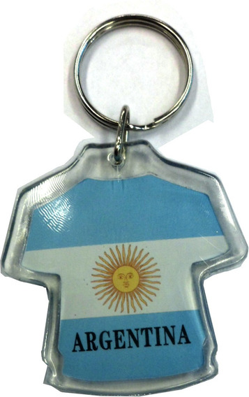 Llavero Plastico Argentina Ideal Regalo Sourvenir E1051