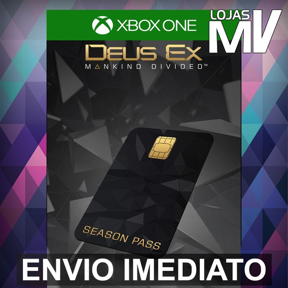 Deus Ex Mankind Divided Season Pass Xbox One 25 Dígitos