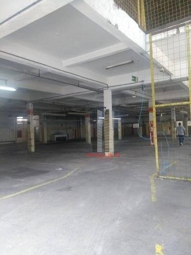 Galpão Para Alugar, 2935 M² Por R$ 45.000/mês - Mooca - São Paulo/sp - Ga0414