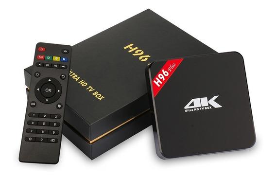 Tv Box H96 4k Ultra Hd