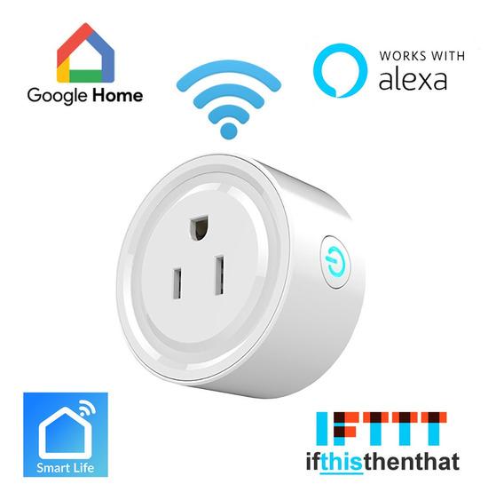 Ehome Enchufe Inteligente Con Wi-fi, Smart Plug Amazon Alexa, Google Home Assistant