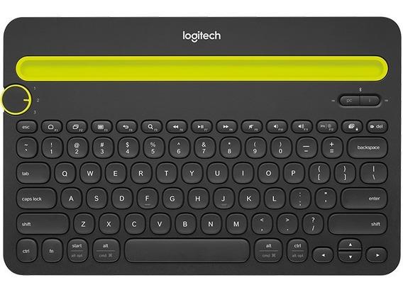 Teclado Logitech K480 Bluetooth Pc iPad Tablet Mac Android