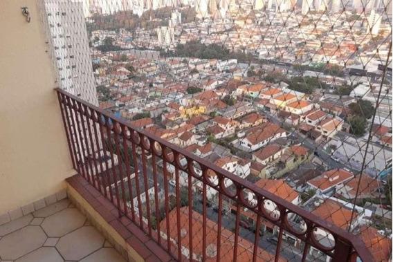Apartamento Com 89 Metros No Lauzane Paulista 3, Quartos, 1 Vaga - Mi81548
