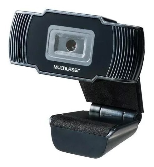Webcam Hd 720p 30 Fps Usb Preta C/ Microfone Integrado Ac339