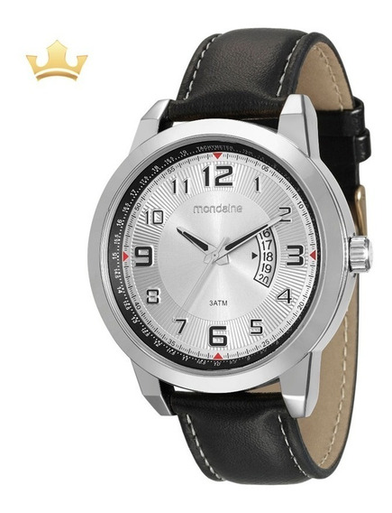 Relógio Mondaine Masculino 99097g0mvnh1 Com Nf