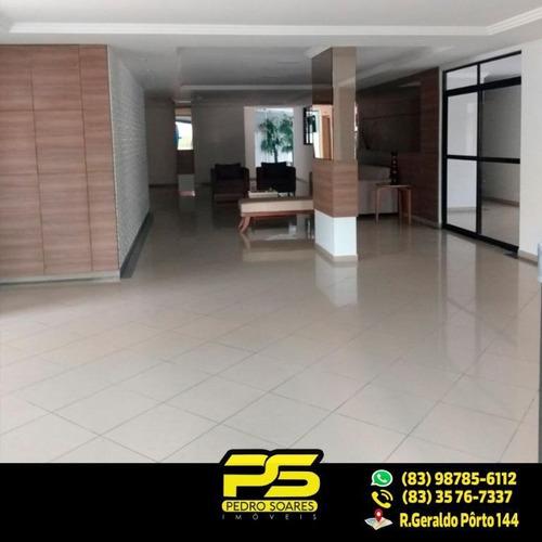 ( Oportunidade ) Apartamento Com 3 Quartos 2 Suíte No Cabo Branco - Ap1670