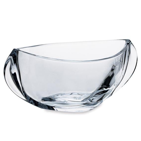 Saladeira Orbit Lisa 30,5cm Em Cristal Bohemia