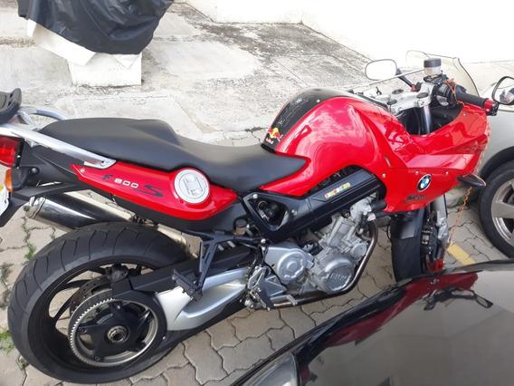Bmw F 800 S - 2º Dono. Moto Linda!!!! Manual E Chave Reserva