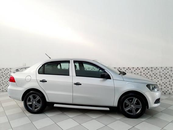 Volkswagen Voyage Trendline 1.0 Flex 2015 Prata Completo