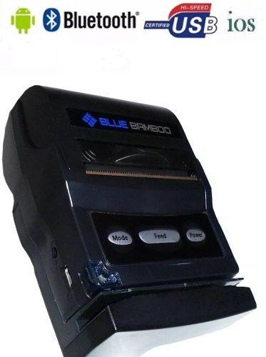 Impressora Térmica Portátil Bluetooth Ios Android Bamboo Nfe