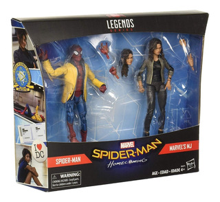 Spiderman & Mj Spider-man Y Mary Jane Marvel Legends Nuevos