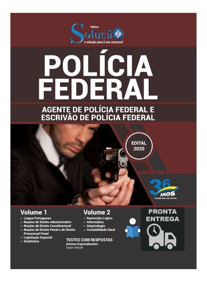 Apostila Agente E Escrivão Da Polícia Federal (pf) Livro