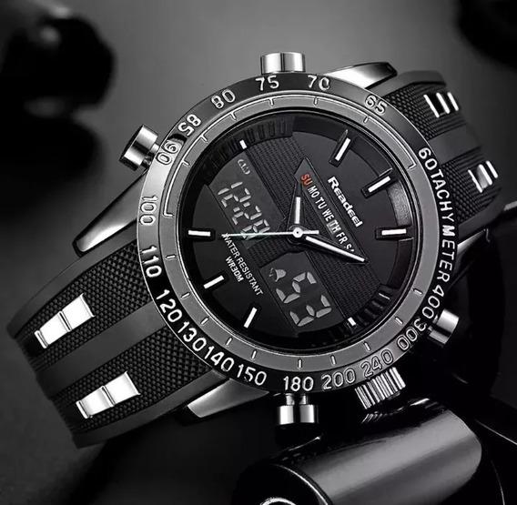 Relógio Masculino Readeel Prova Dágua Dual Time Original