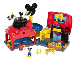 Mickey And The Roadster Racers Garage/taller Original Disney