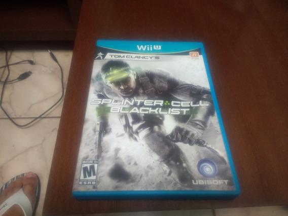 Splinter Cell Blacklist Do Wii U Original Mídia Física