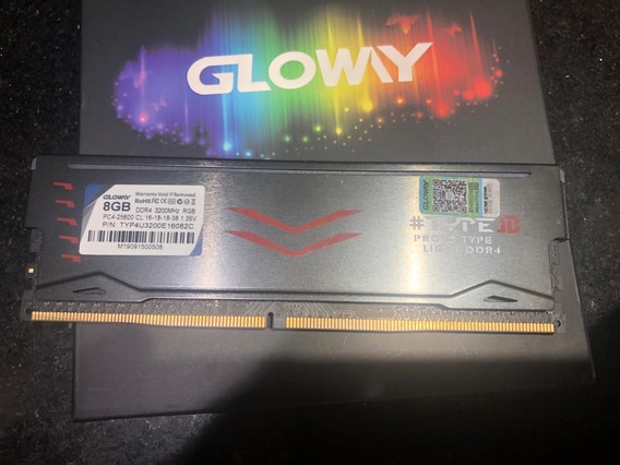 Memória Ddr4 Gloway 8gb 3200mhz Cl-17 Pc Desktop
