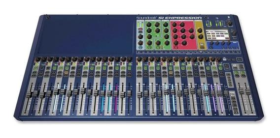 Mesa Digital Soundcraft Si Expression 3 C/ 32 Canais