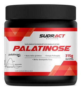 Palatinose Sudract Nutrition - Pote 315g Carboidrato