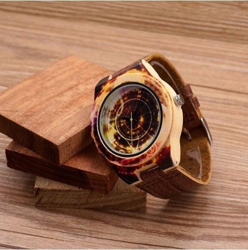 Relógio Feminino Bambu K011 Analóg Bobo Bird