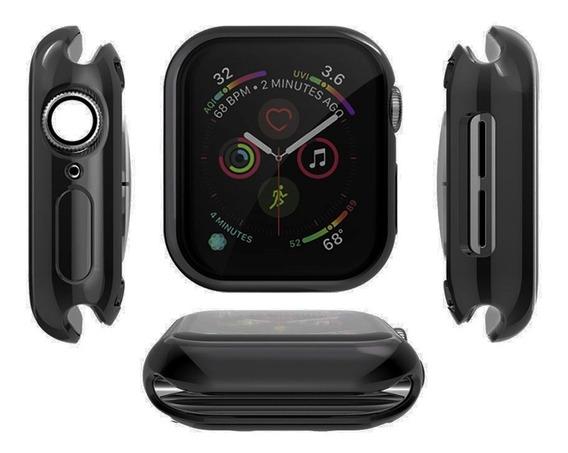 Case Protector Mica Tpu Para Apple Watch Serie 5 40mm 44mm