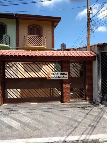 Sobrado Com 3 Dormitórios À Venda, 290 M² Por R$ 850.000,00 - Vila Matilde - São Paulo/sp - So0816