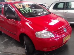 Vw - Volkswagen Fox 1.6 Flex 2007 Vermelho !!!
